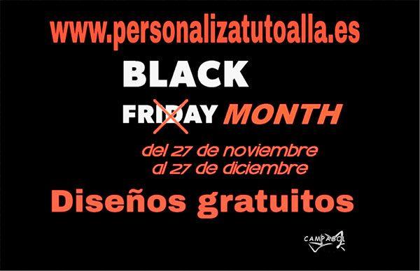 Black Month Personaliza tu toalla