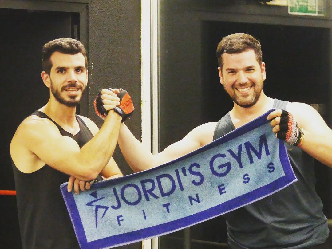 Toalla fitness jordi's gym